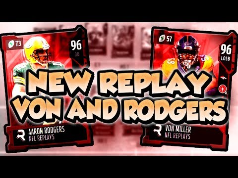 Madden 18 Ultimate Team :: New Replay Content! 96 A. Rodgers! 96 V. Miller! Madden 18 Ultimate Team