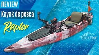 "Vídeo: Kayak de pesca ""Raptor"""
