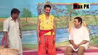Amanat Chan   Khushboo   Akram udas   New Pakistani Stage Drama Comedy Clip