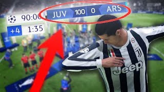 FIFA 19 - 100-0 In the CHAMPIONS League FINAL?! (FIFA 19 World Record?)