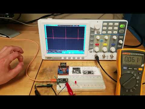 Visually Exploring analogWrite (PWM) on Arduino/Teensy: ME 207 Lab Experiment 2