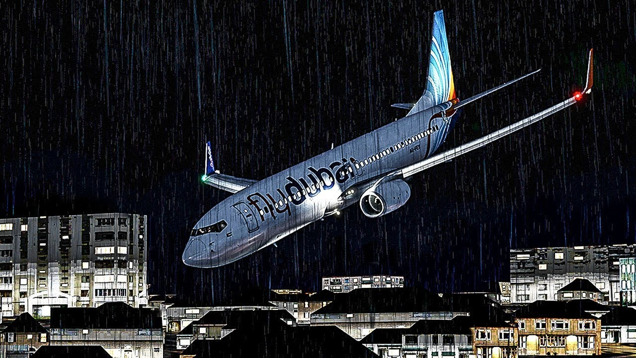 How a Catastrophic Illusion Caused this Boeing 737 to Crash Into the Ground  | FlyDubai 981 | 4K - YouTube