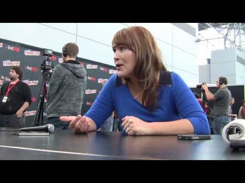 Amber Nash (Pam Poovey of Archer) Interview @ NYCC 2013