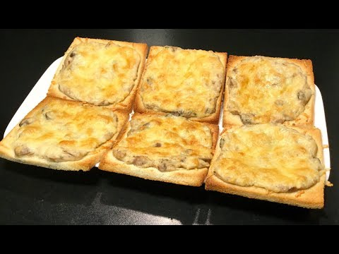 recette-rapide-et-facile-À-faire-les-croques-au-thon-et-aux-champignons