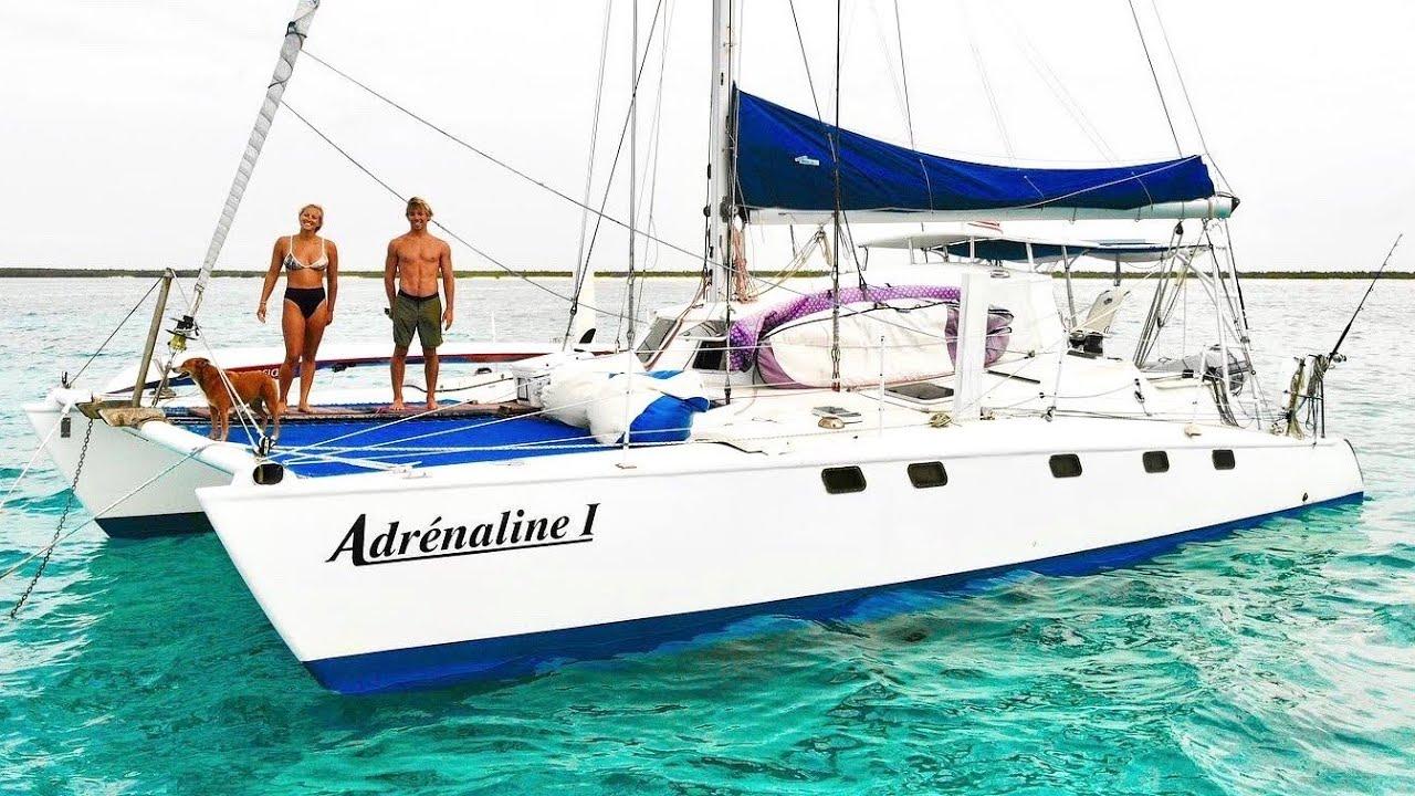 OUR CATAMARAN IS FOR SALE 😱 || 3 Year Sailing Catamaran Refit in Less Than 30 Minutes