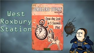 Fallout 4 - West Roxbury Station - Tumblers Today Location
