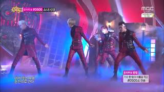 Repeat youtube video [HD] 140315 100% (백퍼센트) - Heart Beat (심장이뛴다) [Comeback Stage] @ Show! Music core