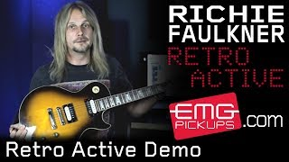 EMG's new Retro Active pickups with Richie Faulkner