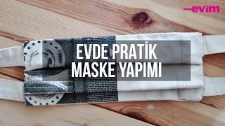 Evde Maske Nasıl Yapılır? Evde Pratik Maske Yapımı | Kendin Yap!