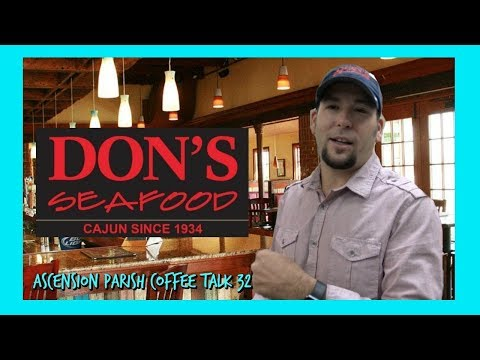 HOLY COW, THIS IS SOME GOOD CAJUN FOOD!!- DON'S SEAFOOD IN GONZALES!
