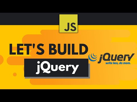 Build Your First Javascript Library (Like jQuery!) thumbnail