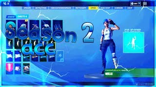 Season 2 Account raffle ! 300 subscriptions/blue hat ! 20 likes ? #verlosung #accountverlosung #fortnite