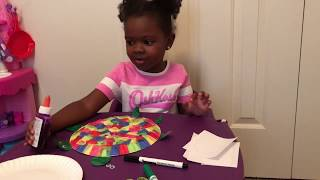 Playtime with Ava - Arts & Crafts Turtle
