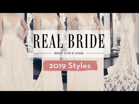 Real Bride by Enzoani - Wedding 101: 2019 Bridal Gown Trends. http://bit.ly/2HDu3dS