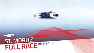 St. Moritz | BMW IBSF World Cup 2015/2016 - Men's Skeleton Heat 2 | IBSF Official