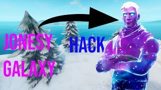 HOW TO HAVE THIS SKIN GALAXY JONESY ON FORTNITE BATTLE ROYALE HACK HXD (WORLD EXCLU)