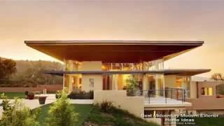 12 Best Midcentury Modern Exterior Home Ideas