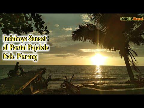 Indahnya Sunset Di Pantai Pajalele Desa Binanga Karaeng Kab Pinrang Youtube
