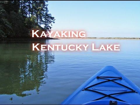 Kayaking Kentucky Lake