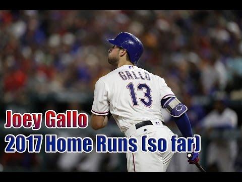 Joey Gallo: 2017 Home Runs (so far)