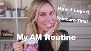 My Current AM Anti-Aging Skincare Routine | All Ages, Serious Anti-Aging, Real Results