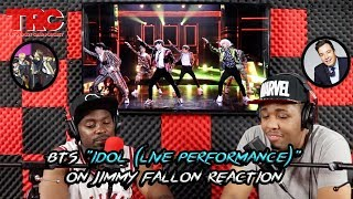 "BTS ""IDOL"" (Live Performance)"" On Jimmy Fallon Reaction"