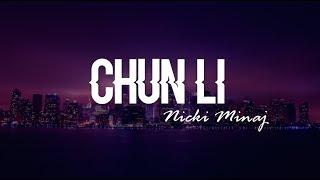 Chun Li - Nicki Minaj (Clean Lyrics)