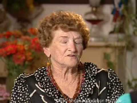 Holocaust Survivor Julia Lentini Testimony