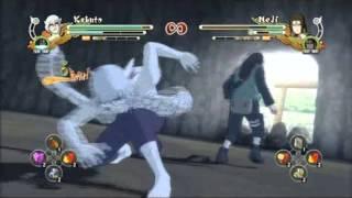 narut storm 3 sage kabuto vs kcm2 naruto ems sasuke sakura neji lee hinata gaara