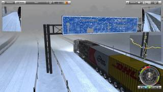 German Truck Simulator Christmas with Scania