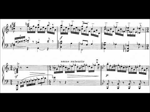 Francis Poulenc - Presto in B-flat FP. 70 (audio + sheet music)