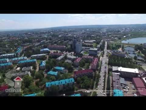 Аэросъемка города Альметьевска