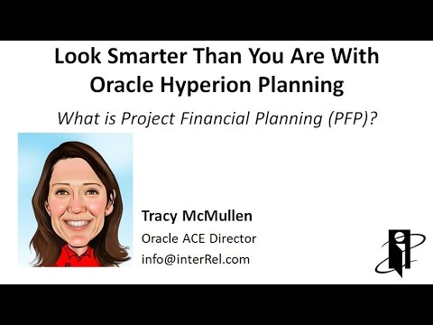 What is Project Financial Planning (PFP)?