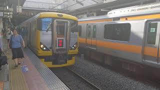【中央線臨時電車 毎日走ってる気がする】中央本線 特急 富士回遊90号 新宿行