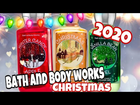Christmas Bath And Body 2020 Bath and Body Works Christmas 2020 Holiday Traditions Body Care