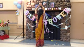 Traditional Indian Baby Shower Dance! (: