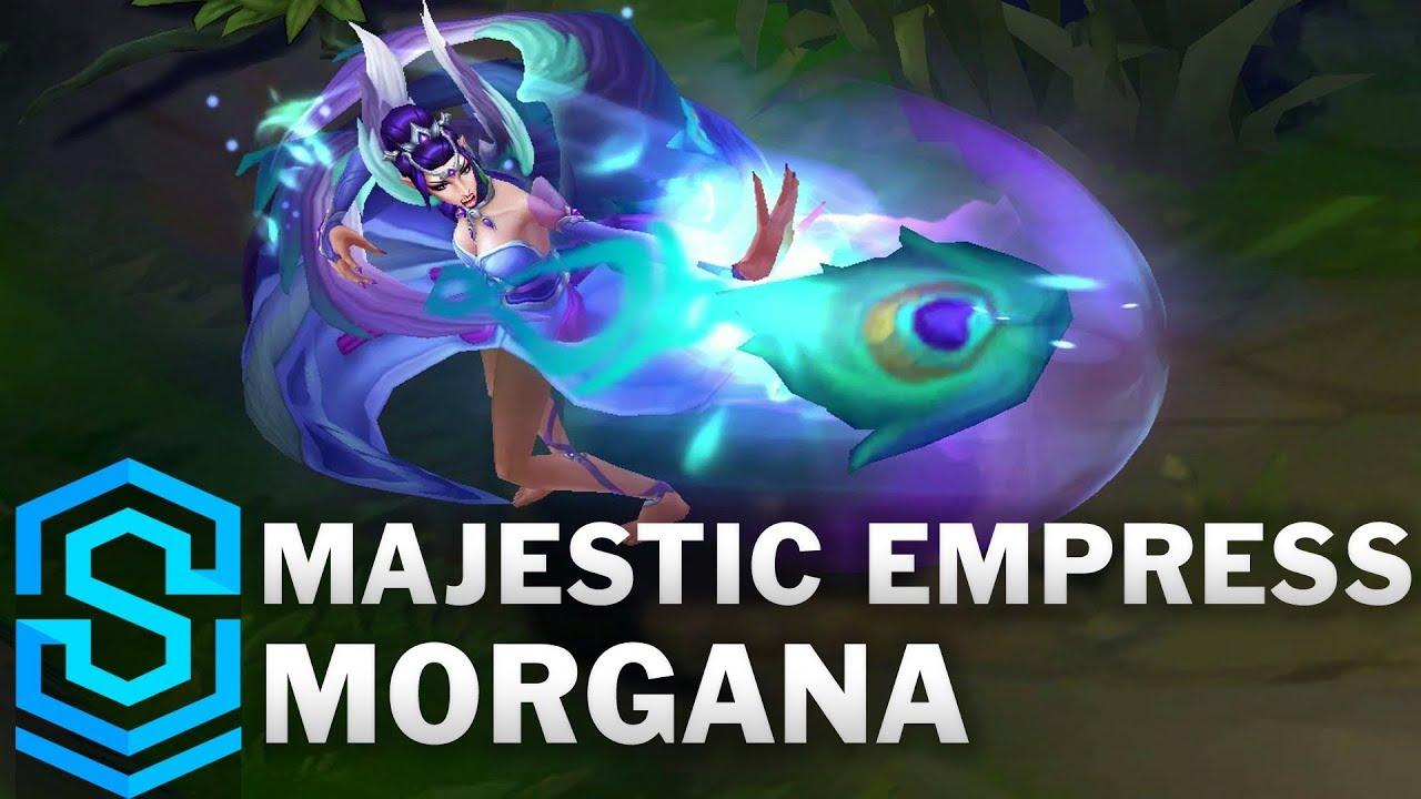 Majestic Empress Morgana Skin Spotlight - League of Legends