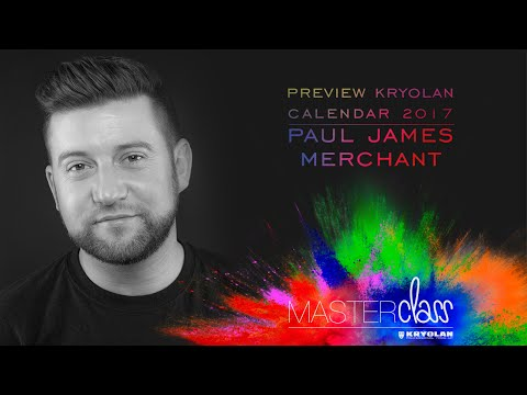 Kryolan Masterclass 2016: Paul James Merchant - Preview Kryolan Calendar 2017