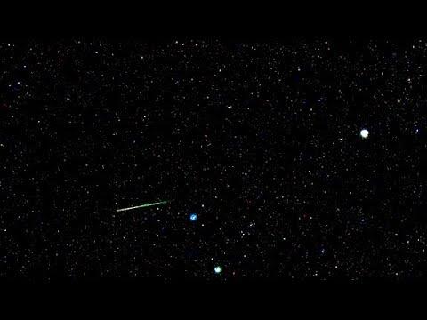EXCLUSIVE - WATCH LIVE - Orionid Meteor Show streak night sky