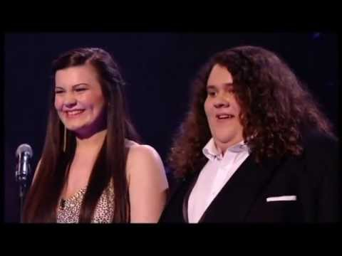 CHARLOTTE & JONATHAN STAR ON THE  FINAL OF BRITAIN'S GOT TALENT 2012 !