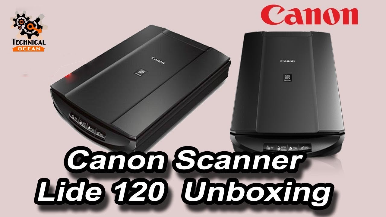 Hindi - Canon Scanner Lide 120 Unboxing Technical Ocean - 04