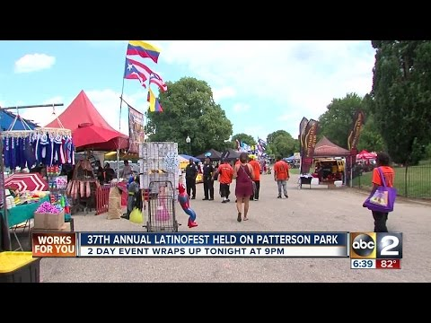 Hispanic culture celebrated in the streets of Baltimore