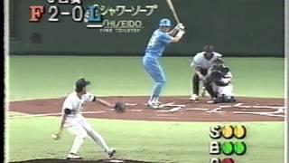 1993 西崎幸広 2  VS  渡辺久信 6 西崎幸広 検索動画 20