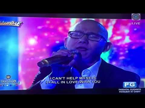 I Just Fall in Love Again - Steven Paysu ( Tawag Ng Tanghalan)