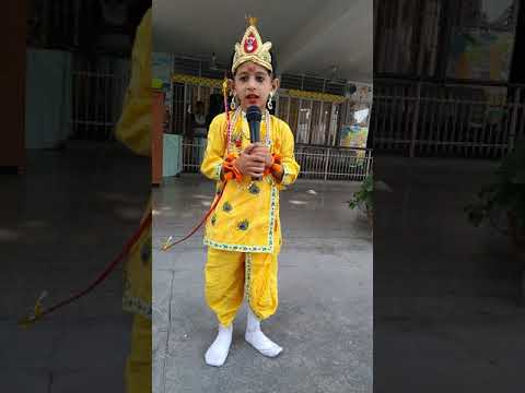 A fancy dress competition in Apple Grove School,Saharanpur