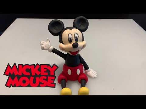 Mickey Mouse Fondant Cake Topper Tutorial thumbnail