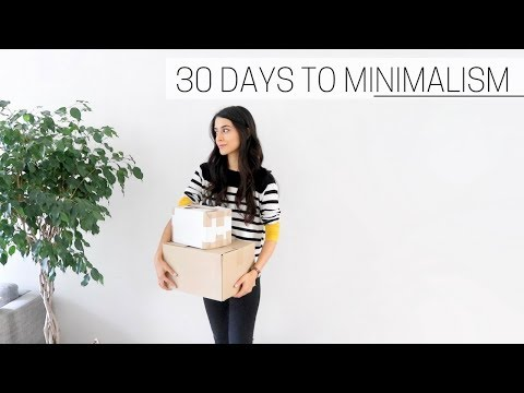30 DAYS TO MINIMALISM » + printable guide