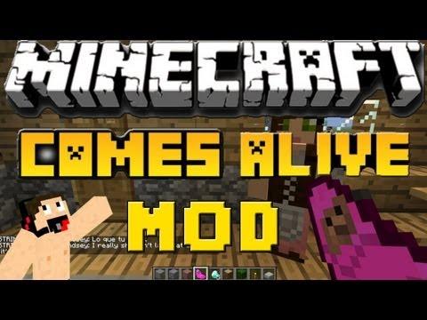 Minecraft Mods: Como Instalar y Descargar Comes Alive Mod Para Minecraft 1.5.2