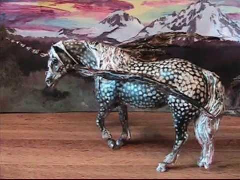 Custom Zombie Breyer Horses