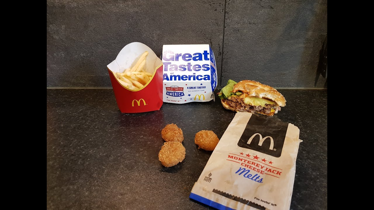 *NEW* McDonalds Chicago Stack & McDonalds Monterey Jack Cheese Melts |  Great Tastes Of America